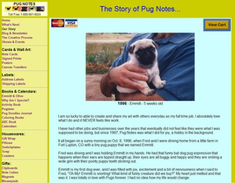 The Story of Pug Notes